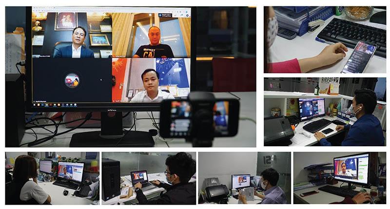 Toàn cảnh buổi talk show tại FSI