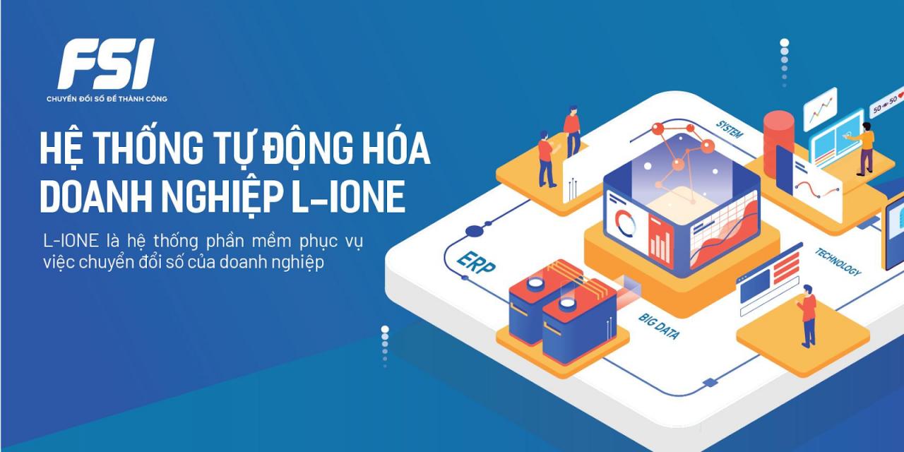 L-IONE mang đến bộ giải pháp chuyển đổi số toàn diện