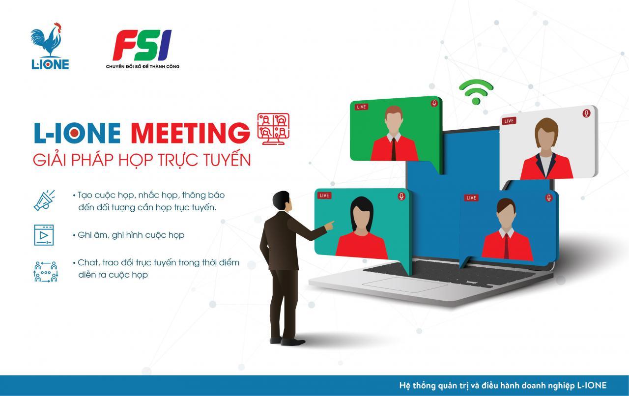 FSI làm việc từ xa là nhờ công nghệ tiên tiến