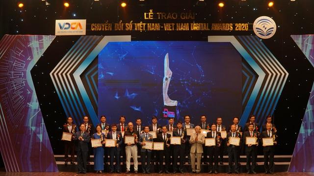 Lễ trao giải thưởng Chuyển đổi số Việt Nam