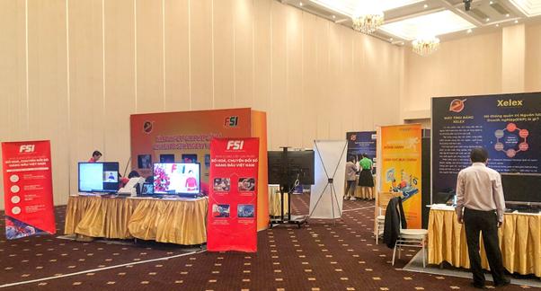 Triển lãm về doanh nghiệp, sản phẩm Make in Viet Nam và Chương trình sản phẩm, dịch vụ CNTT thương hiệu Việt năm 2020
